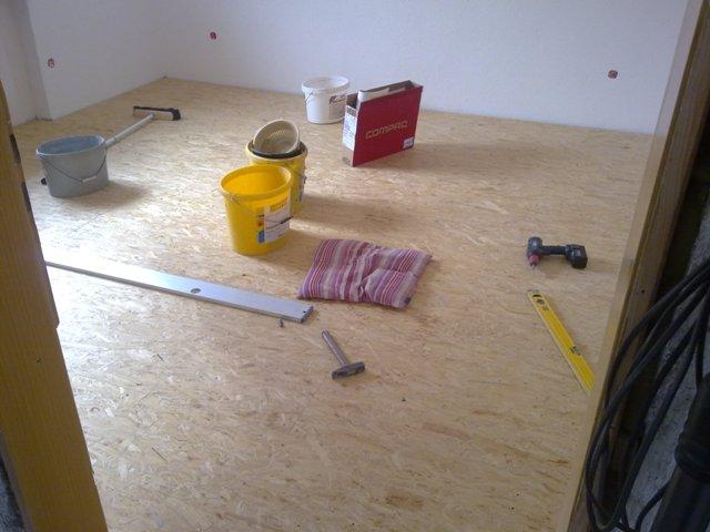 Trittschalldämmung Wohnzimmer