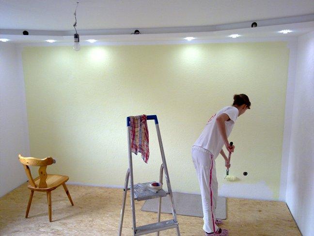 wohnzimmer teil 6 frischer anstrich jetzt wird es bunt stefe s blog. Black Bedroom Furniture Sets. Home Design Ideas